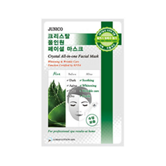 Тканевая маска Mj Care Junico Crystal All-in-one Facial Mask Aloe (Объем 25 г)