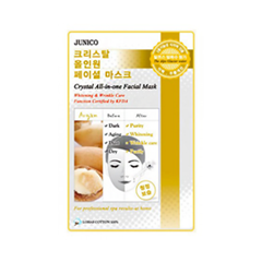 Тканевая маска Mj Care Junico Crystal All-in-one Facial Mask Argan (Объем 25 г)