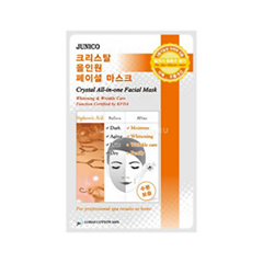 Тканевая маска Mj Care Junico Crystal All-in-one Facial Mask Hyaluronic (Объем 25 г)