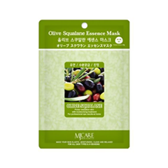 Тканевая маска Mj Care Olive Squalane Essence Mask (Объем 23 г)