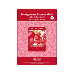 Тканевая маска Mj Care Pomegranate Essence Mask (Объем 23 г) тканевая маска bioaqua animal tiger supple mask объем 30 г