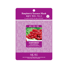 Тканевая маска Mj Care Raspberry Essence Mask (Объем 23 г) тканевая маска bioaqua animal tiger supple mask объем 30 г