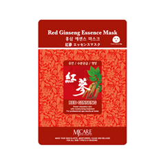 Тканевая маска Mj Care Red Ginseng Essence Mask (Объем 23 г)