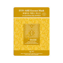 Тканевая маска Mj Care Syn-Ake Essence Mask (Объем 23 г) патчи для глаз tony moly intense care syn ake eye mask