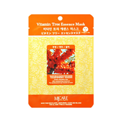 Тканевая маска Mj Care Vitamin Tree Essence Mask (Объем 23 г)