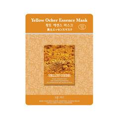 Тканевая маска Mj Care Yellow Ocher Essence Mask (Объем 23 г)