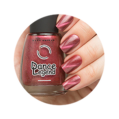 Лак для ногтей Dance Legend Magnetic 626 (Цвет 626 variant_hex_name 8D464C)