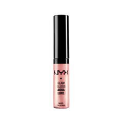 ����� ��� ��� NYX Glam Lipgloss Aqua Luxe 03 (���� 03 Beat Goes On)