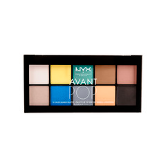 Тени для век NYX Professional Makeup Avant Pop! Shadow Palette 02 (Цвет 02 Surreal My Heart variant_hex_name F2E290)