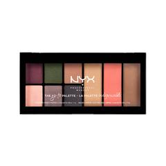 Для глаз NYX Professional Makeup Go-To Palette Bon Voyage (Цвет Bon Voyage variant_hex_name 535440)