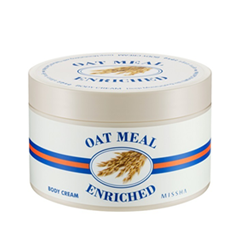 Крем для тела Missha Oat Meal Enriched Body Cream (Объем 390 мл)