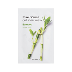 Тканевая маска Missha Pure Source Cell Sheet Mask Bamboo (Объем 21 г)