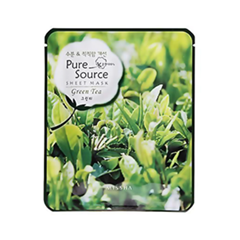 Тканевая маска Missha Pure Source Sheet Mask Green Tea (Объем 21 г)