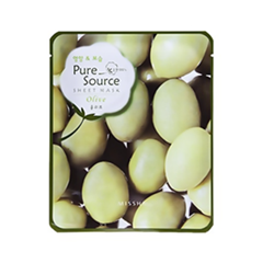 Тканевая маска Missha Pure Source Sheet Mask Olive (Объем 21 г)