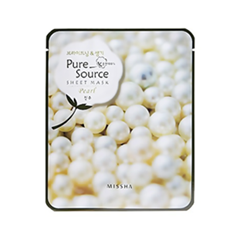 Тканевая маска Missha Pure Source Sheet Mask Pearl (Объем 21 г)
