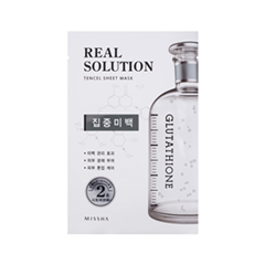 �������� ����� Missha Real Solution Tencel Sheet Mask Pure Whitening (����� 25 �)