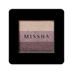 Тени для век Missha Triple Shadow 01 (Цвет 01 Brownie Pink variant_hex_name 9C7C81)