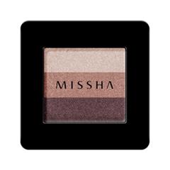Тени для век Missha Triple Shadow 05 (Цвет 05 Vintage Plum variant_hex_name A4746A)