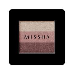 ���� ��� ��� Missha Triple Shadow 06 (���� 06 Marsala Red)