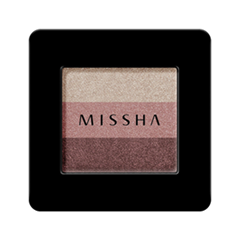 Тени для век Missha Triple Shadow 06 (Цвет 06 Marsala Red variant_hex_name AC807B)
