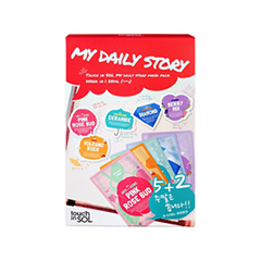 �������� ����� Touch in Sol My Daily Story Mask Pack (����� 7 x 25��)
