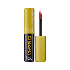 Тинт для губ Touch in Sol Chroma Powder Lip Tint 4 (Цвет 4 Leeloo variant_hex_name E34218) touch in sol пудровый тинт для губ chroma powder цвет 4 leeloo 2 5 г