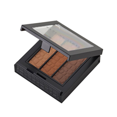 Тени для бровей Make Up Store Tri Brow Brown (Цвет Brown variant_hex_name 95583C)