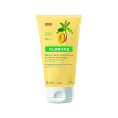 Бальзам Klorane Питание и защита. Бальзам-ополаскиватель с маслом манго для сухих и поврежденных волос (Объем 150 мл)