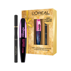 ����� L'Oreal Paris ����� ���� Mega Volume Miss Manga + ����������� Perfect Slim (����� 8,5 ��+1 ��)