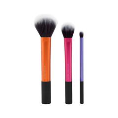Набор кистей для макияжа Real Techniques Набор кистей с двойным ворсом Duo Fiber Collection