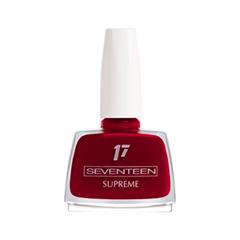 Лак для ногтей Seventeen Supreme Nail Enamel 102 (Цвет 102 variant_hex_name 77001E) лак для ногтей seventeen supreme nail enamel 47 цвет 47 variant hex name b81b12