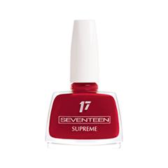 Лак для ногтей Seventeen Supreme Nail Enamel 129 (Цвет 129 variant_hex_name 990225) лак для ногтей seventeen supreme nail enamel 47 цвет 47 variant hex name b81b12