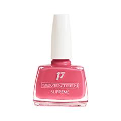 Лак для ногтей Seventeen Supreme Nail Enamel 154 (Цвет 154 variant_hex_name E4627A) лак для ногтей seventeen supreme nail enamel 47 цвет 47 variant hex name b81b12