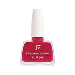Лак для ногтей Seventeen Supreme Nail Enamel 43 (Цвет 43 variant_hex_name BB2845) лак для ногтей seventeen supreme nail enamel 47 цвет 47 variant hex name b81b12