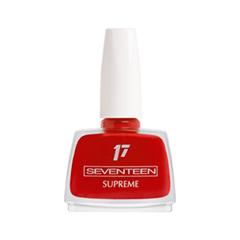 Лак для ногтей Seventeen Supreme Nail Enamel 46 (Цвет 46 variant_hex_name C20116) лак для ногтей seventeen supreme nail enamel 47 цвет 47 variant hex name b81b12
