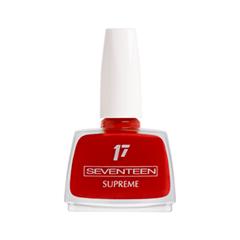 Лак для ногтей Seventeen Supreme Nail Enamel 47 (Цвет 47 variant_hex_name B81B12) лак для ногтей seventeen supreme nail enamel 47 цвет 47 variant hex name b81b12