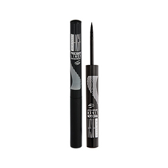 �������� Seventeen High Precision Waterproof Liquid Eye Liner 01 (���� 01 Carbon Black)
