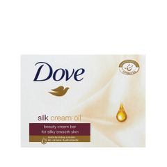 Мыло Dove Silk Cream Oil Beauty Cream Bar (Объем 135 г)
