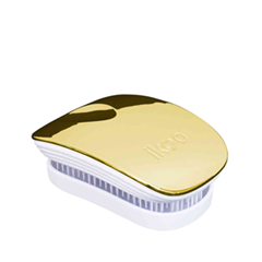 Расчески и щетки Ikoo Brush Metallic Pocket White Soleil