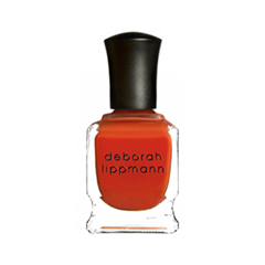 Лак для ногтей Deborah Lippmann Crème Nail Polish Don't Stop Believin (Цвет Don't Stop Believin variant_hex_name DA3A1E) лак для ногтей deborah lippmann crème nail polish blue orchid цвет blue orchid variant hex name afc5d3