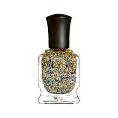 Лаки для ногтей с эффектами Deborah Lippmann Glitter Nail Polish Glitter and Be Gay (Цвет Glitter and Be Gay variant_hex_name CCB28D)
