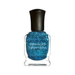 Лаки для ногтей с эффектами Deborah Lippmann Glitter Nail Polish Just Dance (Цвет Just Dance variant_hex_name 00B1D7)