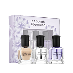 Уход за ногтями Deborah Lippmann Набор Treat Me Right Set (Объем 8мл+8мл+8мл) deborah lippmann lipstick call me maybe цвет call me maybe