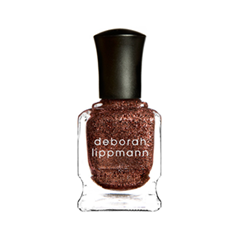 Лак для ногтей Deborah Lippmann Nail Color Glitter Superstar (Цвет Superstar   variant_hex_name 915B43) лаки для ногтей isadora лак для ногтейwonder nail 735 6мл