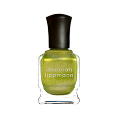 Лак для ногтей Deborah Lippmann Nail Color Shimmer Weird Science (Цвет   variant_hex_name B7C95B)