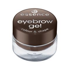 Гель для бровей essence Eyebrow Gel Colour & Shape 01 (Цвет 01 Brown variant_hex_name 38271F) кисть для бровей essence eyebrow brush