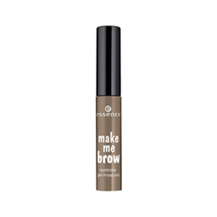 Тушь для бровей essence Make Me Brow Eyebrow Gel Mascara 03 (Цвет 03 Soft Browny Brows variant_hex_name 7F6A59) карандаш для бровей essence make me brow jumbo eyebrow pencil 10 цвет 10 blonde variant hex name 7c5c51