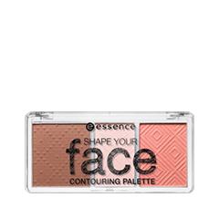 ��� ���� essence ������� ��� ����������������� Shape Your Face Contouring Palette 10 (���� 10 Ready, Set, Peach!)