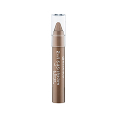 Тени для век essence Тени и Контур для глаз 2 in 1 Eyeshadow & Liner 01 (Цвет 01 Go Bro'nze variant_hex_name 937264) тени для век essence тени хайлайтер hi lighting eyeshadow mousse 01 цвет 01 hi ivory variant hex name fdece4