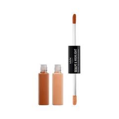 Хайлайтер NYX Professional Makeup Средство для контурирования Sculpt  Highlight Face Duo 03 (Цвет 03 Caramel/Vanilla variant_hex_name D5A575)